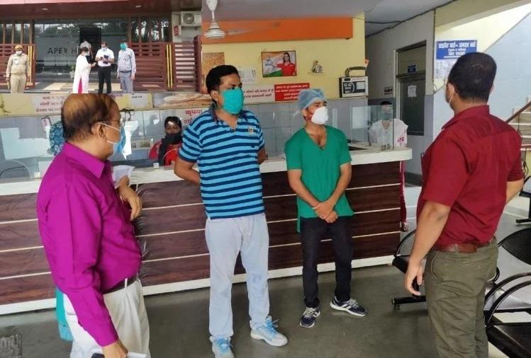 Bsc પાસ ડૉક્ટરો, ફ્રીજમાં બિયરની બોટલો મળી : લખનઉની ખાનગી હોસ્પિટલોમાં દરોડા