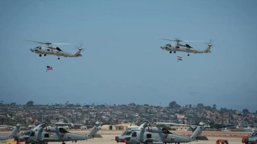 અમેરિકન નૌકાદળે ભારતને બે MH-60R હેલિકોપ્ટર સોંપ્યા, જાણો શું છે ખાસિયતો