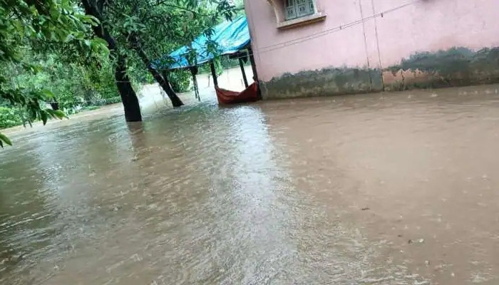 દક્ષિણ ગુજરાતમાં મૂશળધાર વરસાદથી જળબંબાકાર : વલસાડના આ તાલુકામાં બે કલાકમાં ૮ ઇંચ વરસાદ
