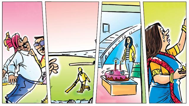 જો IPLની મેચો પણ સાસ-બહુની સિરિયલ્સની જેમ ચાલતી હોત તો ...!!