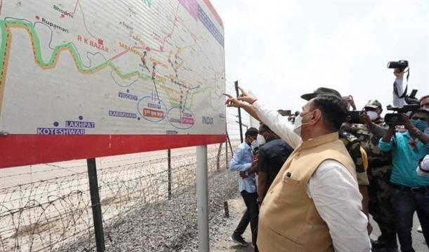 બનાસકાંઠાના નડાબેટ પાસે ભારત-પાકિસ્તાન સરહદ પરના 'ઝીરો પોઇન્ટ' ખાતે પ્રવાસન સુવિધાઓ વિકસાવાશે