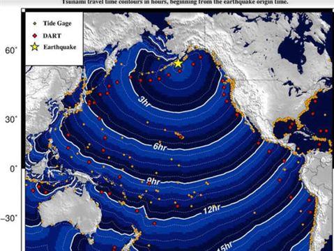 અમેરિકાના અલાસ્કામાં 8.2 ની તીવ્રતાનો ભૂકંપ : સુનામીની ચેતવણી જારી કરાઈ