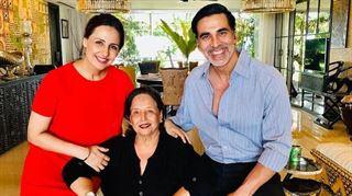 અભિનેતા અક્ષય કુમારના જન્મદિનના એક દિવસ પહેલા માતાનું નિધન, મુંબઈની હોસ્પિટલમાં લીધા અંતિમ શ્વા