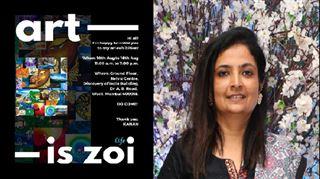 મુંબઈનાં ગુજરાતી આર્ટિસ્ટ કાનન ખાંટનાં પેઇન્ટિંગ્સનું સોલો એક્ઝિબિશન યોજાશે