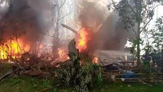 ફિલીપાઈન્સમાં મોટી વિમાન દુર્ઘટના : ૮૫ લોકોને લઇ જતું સેનાનું વિમાન ક્રેશ, ૧૭ ના મોત