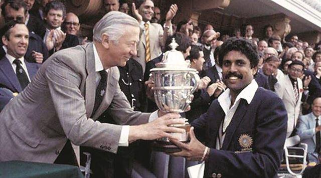 ૧૯૮૩ માં ભારત પહેલી વાર વર્લ્ડ ચેમ્પિયન બન્યું હતું
